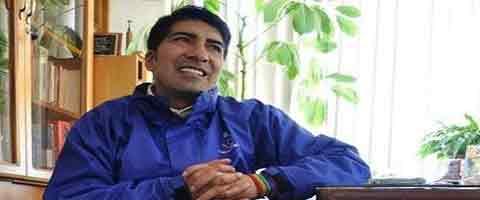 Imagen-Ecuador: La intencion del Regimen es continuar dividiendo a los indigenas dice presidente de la Ecuarunari