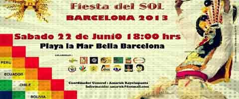 Imagen-Espana: Inti Raymi - Barcelona 2013