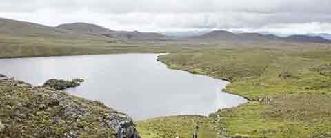 Imagen-Ecuador: ¡Deje libre nuestra agua, esa es nuestra vida!