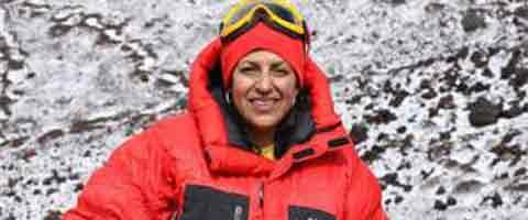 Imagen-Primera mujer ecuatoriana en coronar el Everest