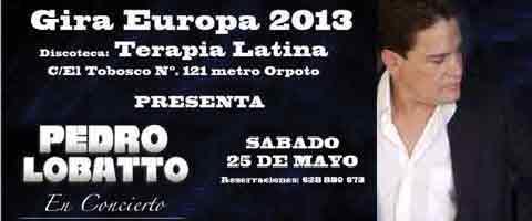Imagen-El Cantautor Ecuatoriano Pedro Lobato, presenta su gira musical 2013