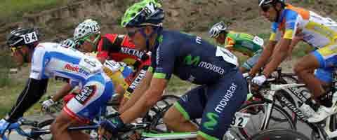 Imagen-Byron Guama, el ecuatoriano mejor ubicado en la vuelta ciclistica a Andalucia
