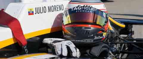 Imagen-Tag Heuer Eyewear patrocinante del Piloto Ecuatoriano Julio Moreno