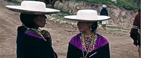 Imagen-Ecuador: Pueblo Salasaka presento modelaje ancestral