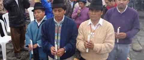 Imagen-Primer Parlamento Plurinacional en Cuenca-Ecuador