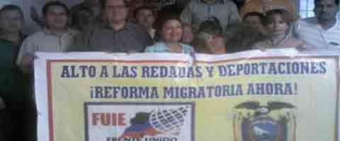 Imagen-USA: A movilizarnos y ejercer mas presion por la reforma migratoria