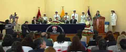 Imagen-Ecuador: 24 años de vida institucional de la Universidad Estatal de Bolivar