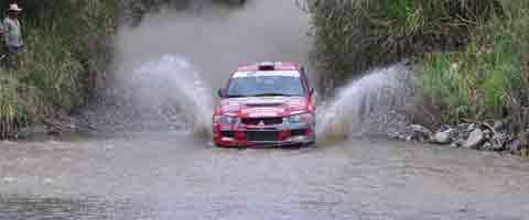 Imagen-Ecuador: Cronograma del campeonato nacional de Rally en Gualaceo