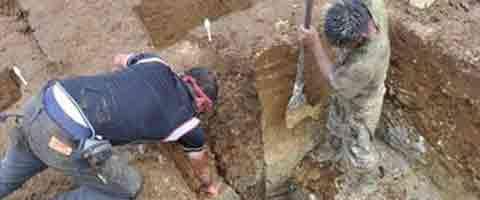 Imagen-Descubren restos de casa de hace 3.000 años en Amazonia ecuatoriana