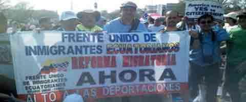 Imagen-USA: Marcha  por la reforma migratoria