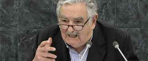 Imagen-Video: Jose Mujica aboga por el reparto de riqueza entre todos los ciudadanos