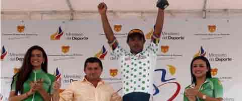 Imagen-Angarita y Guama protagonistas en la quinta etapa de la Vuelta Ciclistica internacional al Ecuador