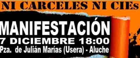 Imagen-Madrid: Campana-manifestacion contra las carceles y el C.I.E.