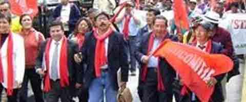 Imagen-Ecuador: Comerciante minoristas preparan acciones de protesta