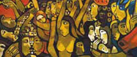 Imagenes-Ecuador: Las guarichas, mujeres revolucionarias