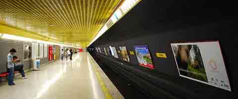 Imagen-Joven ecuatoriano agredido con punetes y patadas, defiende a su novia de carteristas en el metro en Milan