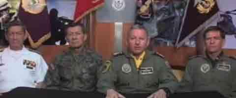 Imagen-Video: Mensaje del Alto Mando de las Fuerzas Armadas, Ecuador