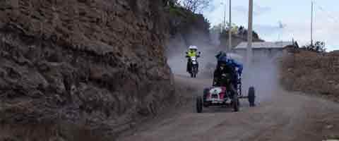 Imagen-Ecuador: Los coches de madera vuelven a la pista de Pimampiro