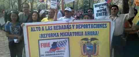 Imagen-EE.UU: Basta ya congresistas el tiempo de espera se acabo, reforma migratoria !Ahora!
