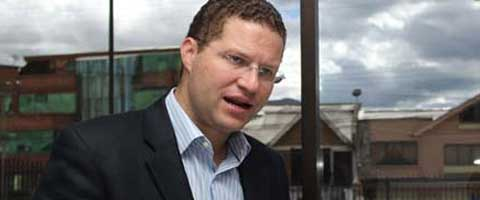 Imagen-Ecuador: El Alcalde Mauricio Rodas manifesto que Quito sera libre de mineria