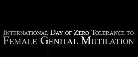 Imagen-6 de febrero: Dia Internacional de Tolerancia Cero con la Mutilacion Genital Femenina