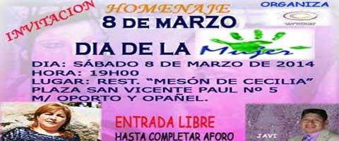 Imagen-Madrid: Festival Artistico Bailable por el dia de la Mujer, este 8 de Marzo