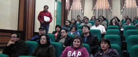 Imagen-Ecuador: Profesores de la UEB conmemora Dia del Maestro
