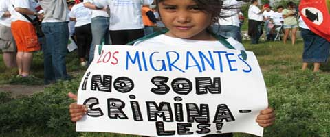Imagen-Mexico criminaliza a los ninos inmigrantes de Centroamerica