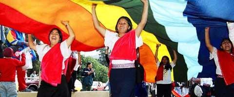 """Imagen-Ecuador: CONAIE rechaza """"Acuerdo Comercial"""" entre Ecuador y la Union Europea"""
