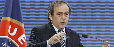 """Imagen-Platini: """"Es inaceptable que alguien sea insultado por su raza, no podemos tolerarlo"""""""