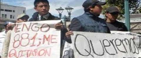 Imagen-Ecuador: Estudiantes superan puntajes pero no pueden ingresar a la universidad