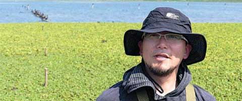 Imagen-Peru: El cientifico que descontamino gratis una laguna natural