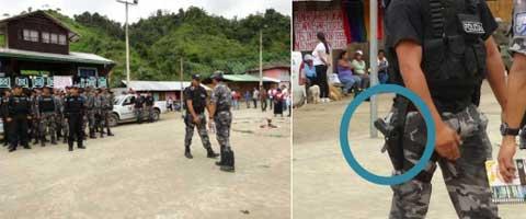 Imagen-Ecuador: La verdad oculta tras el cerco policial en Junin - Intag