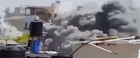 Imagen-Palestina: Les comunicamos que su casa sera destruida en breves instantes