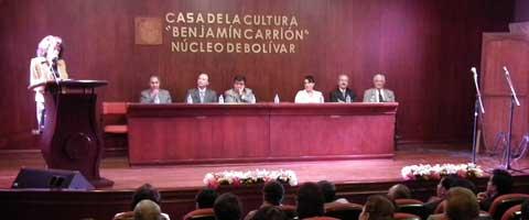 Imagen-Ecuador: Nuevos Miembros de la casa Cultura de Bolivar