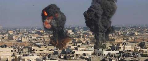 Imagen-Como sobrevivir en Gaza a las bombas de Israel