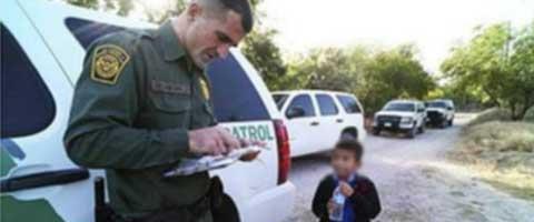 Imagen-Una fotografia sobre el drama de los niños sin papeles de EEUU se convierte en fenomeno viral