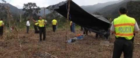 Imagen-Ecuador: Policia desaloja centro Shuar