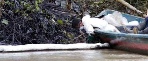 Imagen-Ecuador: Carta abierta de YASunidos a Petroamazonas EP, Sobre Informe de derrame en el Cubayeno