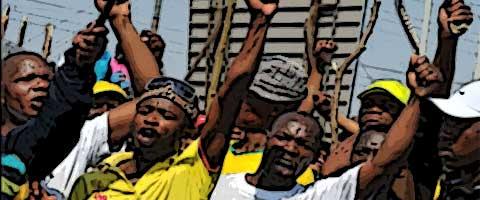 Imagen-En huelga 200 mil trabajadores metalurgicos en Sudafrica