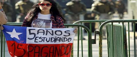 Imagen-Chile: La reforma educacional y los profesionales universitarios