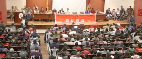 Imagen-Ecuador: Frente Unitario de Trabajadores anuncia movilizacion