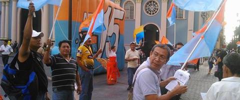 """Imagen-Ecuador: MPD Guayas, """"Esto recien empieza"""""""