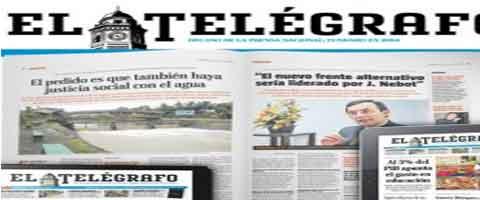 Imagen-Ecuador: El diario El Telegrafo no respeta su Ley de Comunicacion