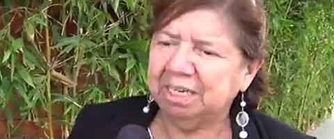 Imagen-Video: Elba Berruz, lider comunitaria Ecuatoriana