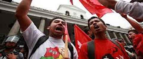 Imagen-Ecuador: Estudiantes anuncian movilizaciones contra elevación de pasajes