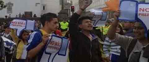Imagen-Ecuador: Estado de derecho o Estado policial