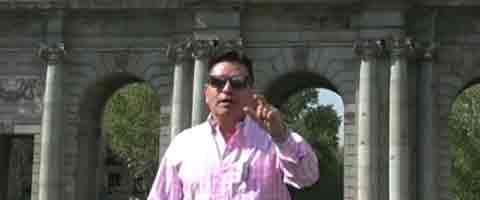 iMAGEN-Video: Omar Gomez invita a participar en la 1ra Convencion Politica Europea de Ciudadanos del Mundo 2014