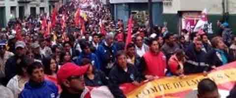 iMAGEN-Ecuador: La oposicion popular toma forma en las calles