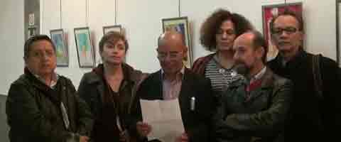 Imagen-Video Madrid: Barbara Schneekloth, Workshop Papers - One. Sala de Exposiciones Mostoles